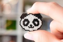 Broszki Mistise Panda