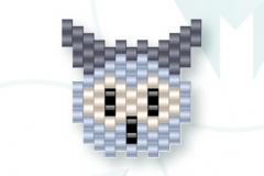 free_pattern_mistise_sowa_owl glowa